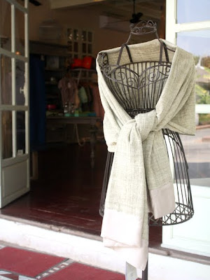 Clothing at the Anakha boutique in Luang