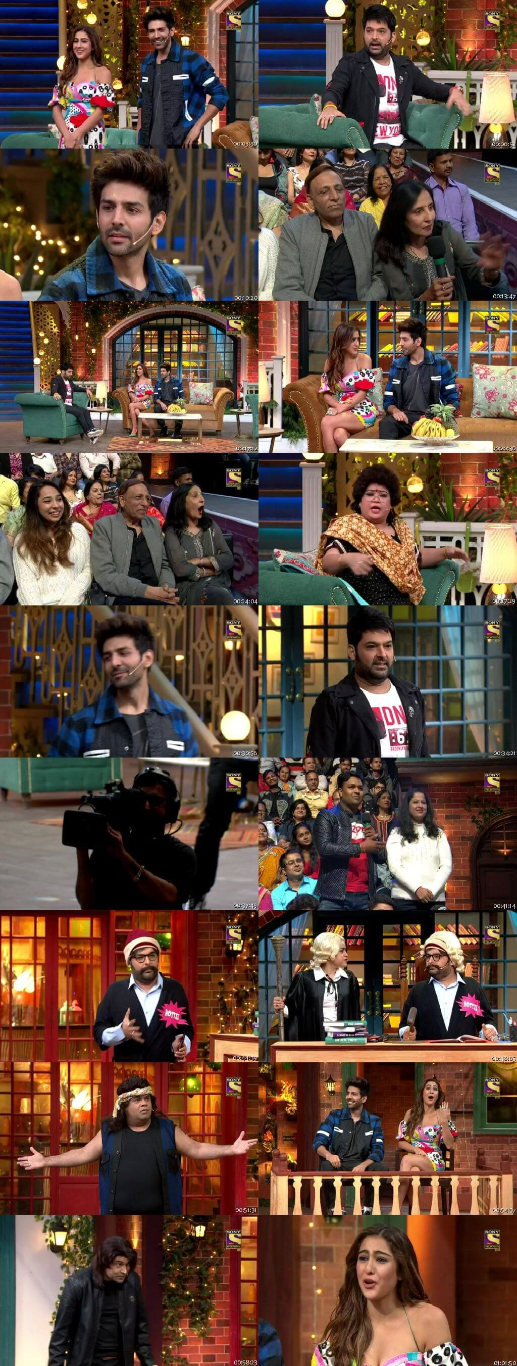 Screen Shot Of The Kapil Sharma Show 9th February 2020 Season 02 Episode 114 300MB Watch Online