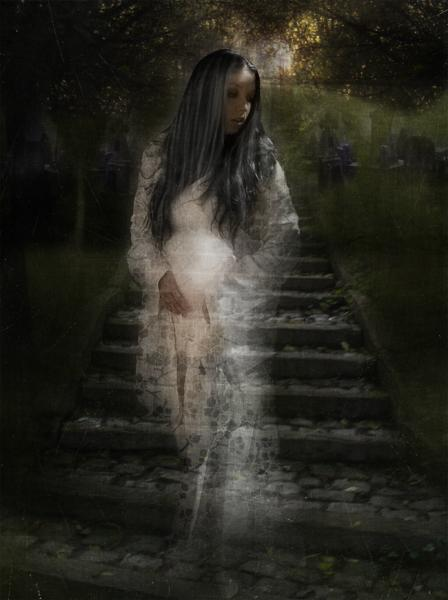 My Japanese Ghost Story, Ghosts