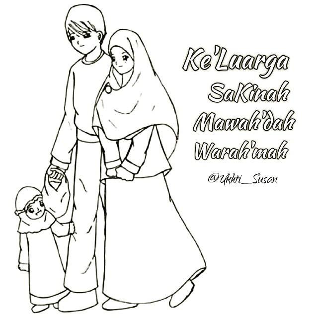 Mirzan Blog S Paling Baru Gambar Ayah Dan Ibu Muslim Kartun