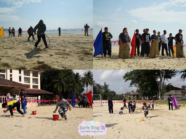 Family Day KBBA9 di Legend Cherating Beach Resort - Day 2
