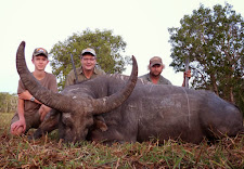 Mr Franz Hagemann, Germany/South Africa took this huge old bull in August with a 375 H&H