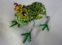 Beaded Frog (Set of two)
