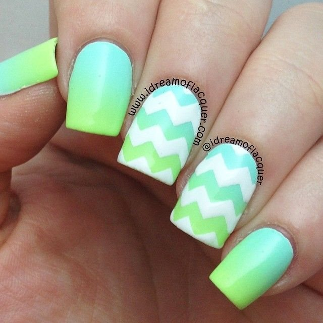 Fashionable Nail Art Designs For Summer 2017