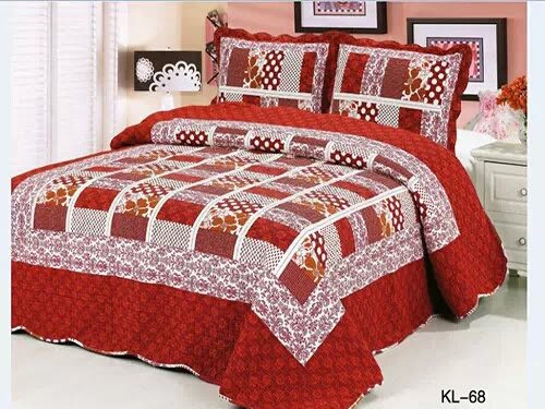 Cadar Patchwork Berkualiti 100% Cotton (3in1 pcs)