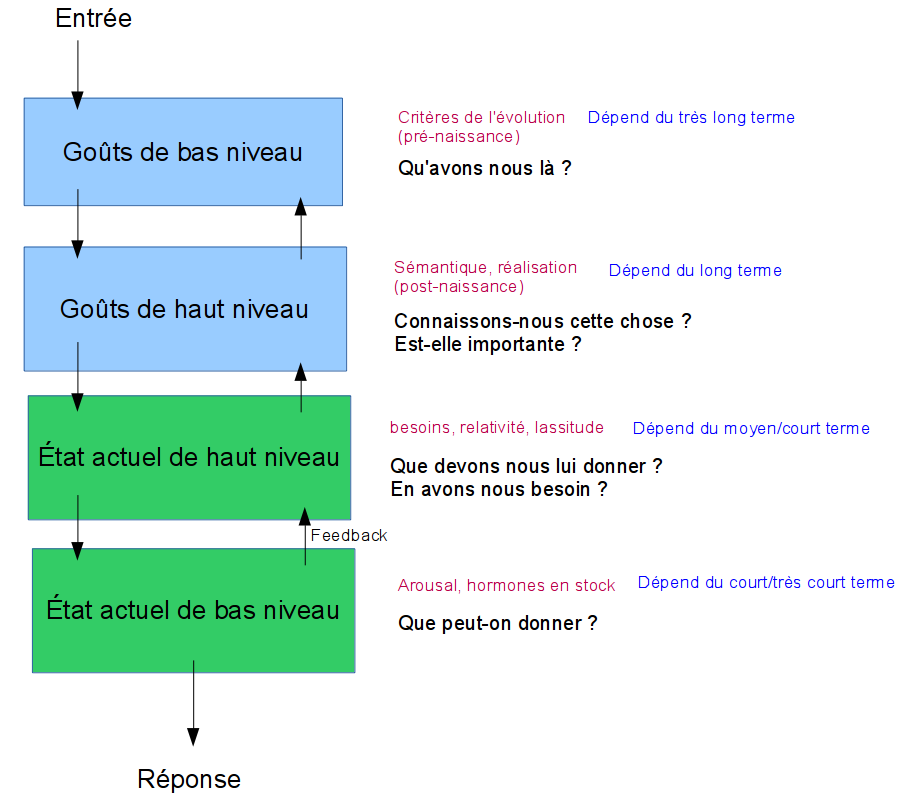 schéma sous-systèmes appréciation