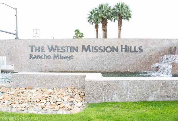 Wine dinner at The Westin Mission Hills Golf Resort