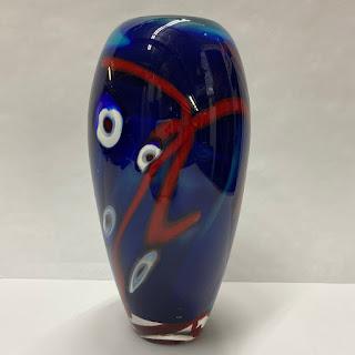 Eric Rubinstein Art Glass Vase