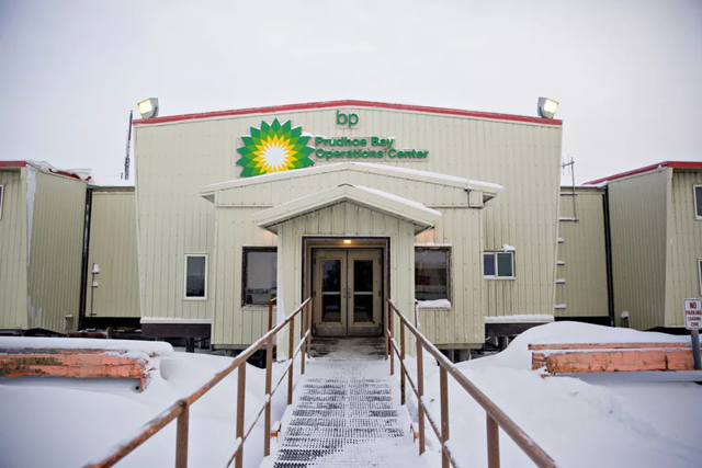BP's Prudhoe Bay Operations Center. Photo: Bloomberg / Getty Images