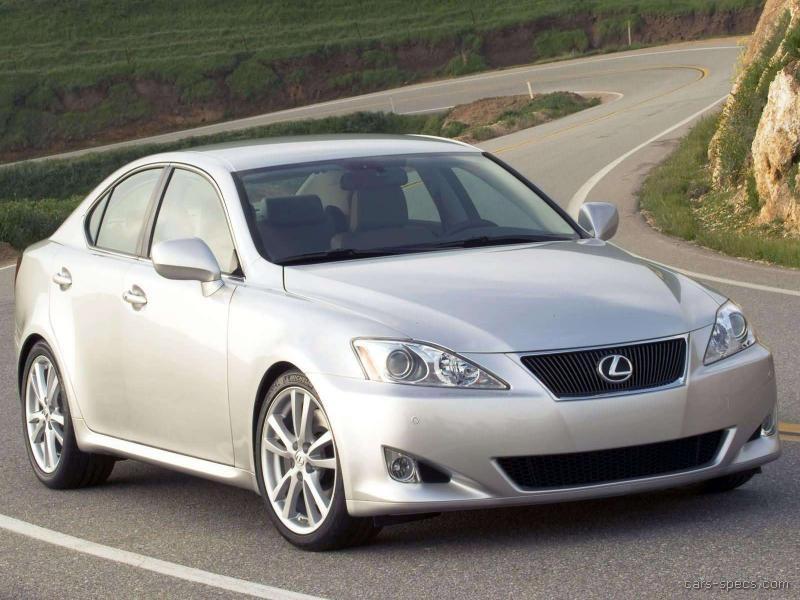 2006 Lexus Is 350 Sedan Specifications Pictures Prices