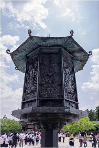 đèn lồng tại đền todaiji