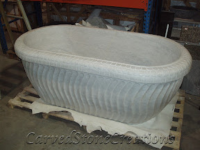 Bath, Bath Tub, Bathtub, Interior, Kitchen & Bath, Marble, Natural, Stone, Tubs