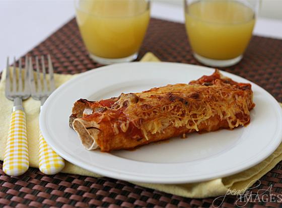 Chicken Enchilada | www.thepeachkitchen.com