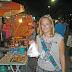Essens-Shopping auf dem Nachtmarkt in Ranong