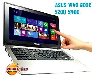 Harga Spesifikasi ASUS Vivo Book S200 S400, Netbook ASUS Vivo Book S200 S400