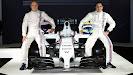 Williams Martini FW36 with Valtteri Bottas and Felipe Massa