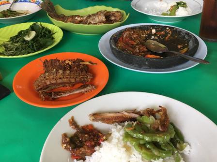 Rumah Makan Berkat, siapa yang tak kenal tempat para penikmat kuliner di Jl A Yani Km 29 Guntung Manggis Kota Banjarbaru ini. Rumah makan dengan menu bakaran dan goreng yang hampir setiap hari ramai didatangi pengunjung ini punya rahasia agar pengunjung datang lagi.