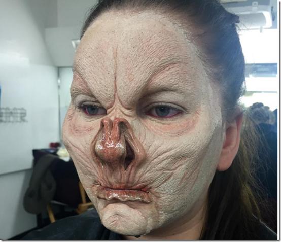 Maquillaje Demonio murciélago