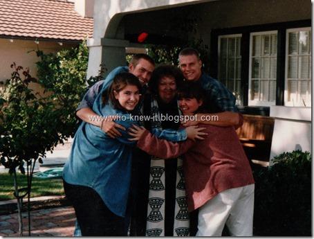 Byrd Ruby w grandchildren 1996