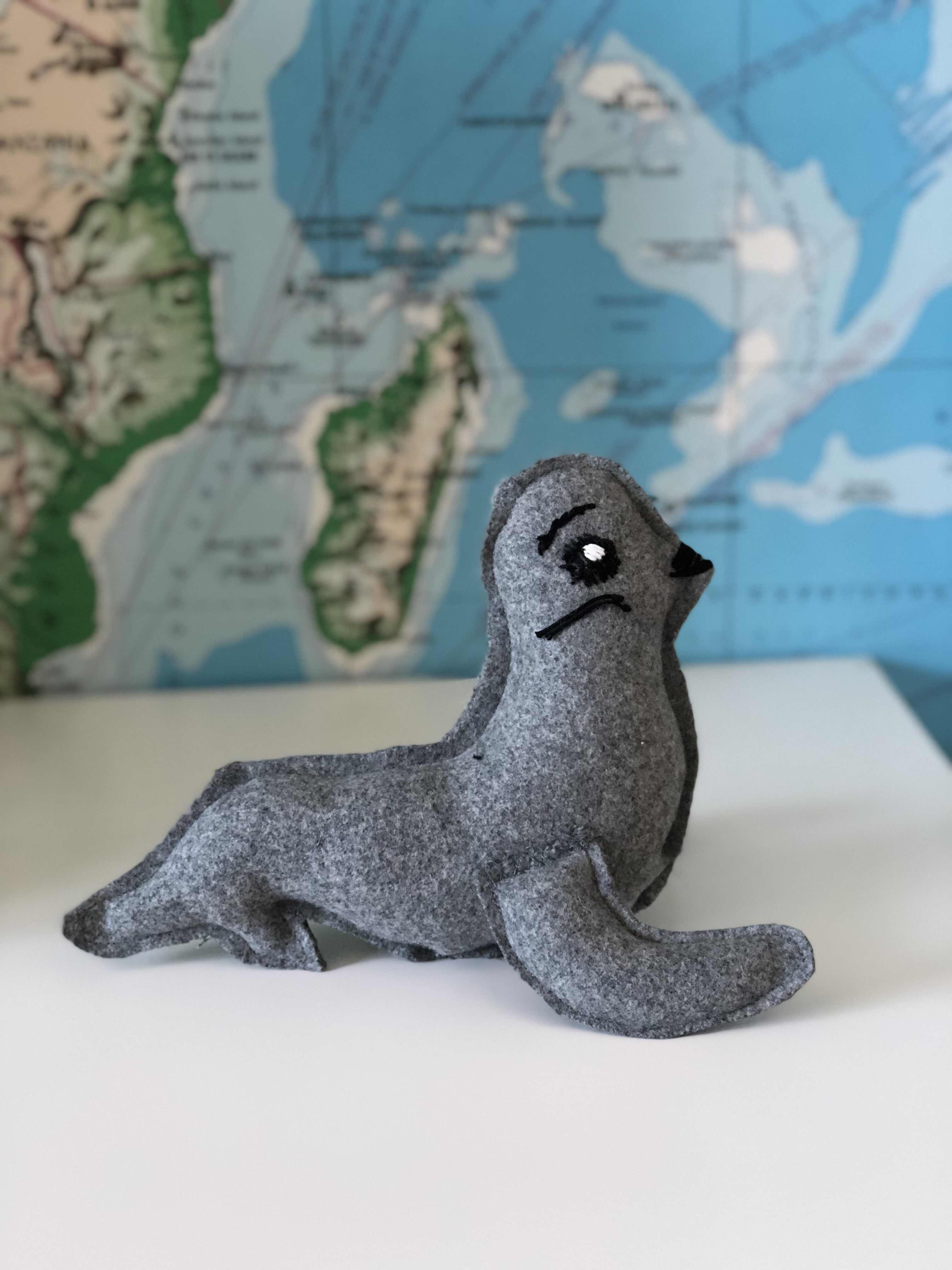 wool seal toy Lilyfield Life