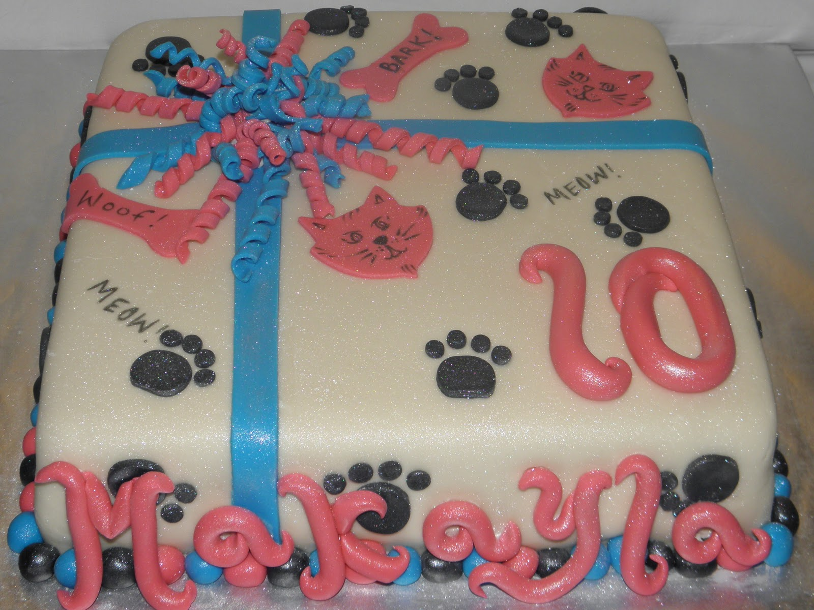 Cookie Dreams Cookie Co Happy 10th Birthday Makayla