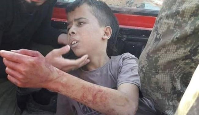 Graphic video: U.S. supports terrorists who behead child in Syria
