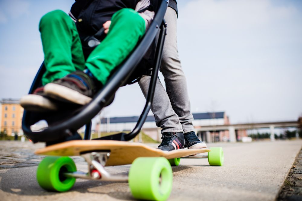 *滑板嬰兒推車:Quinny與Longboard Stroller夢幻戶外組合! 5