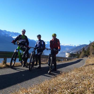 Weihnachtsrunde mit den Nardos  (bikehotels, trailbiker)