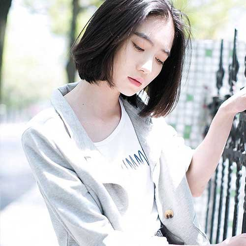 Hairstyles Korean Short Bob Hairstyles 2018