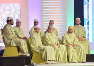 1er prime du concours Tadj El Quraan au Palais des expositions