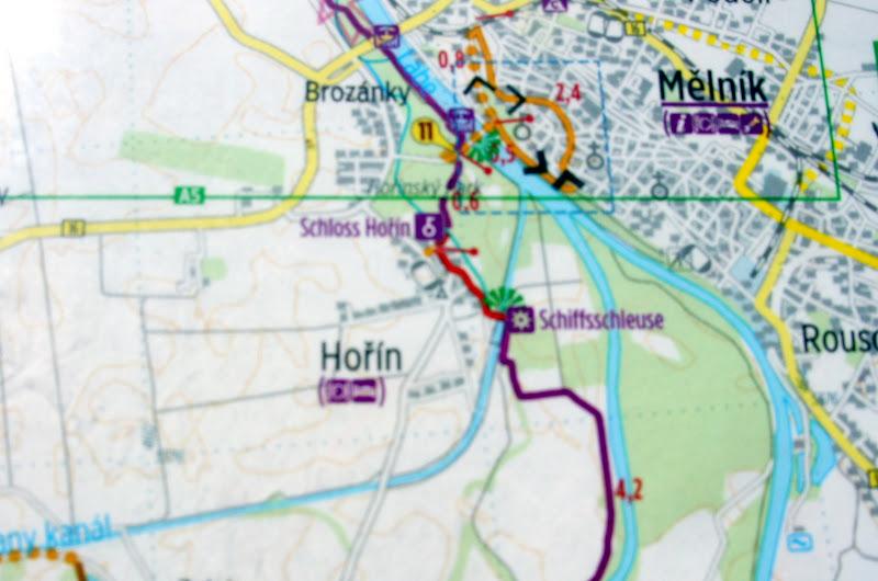 Moldau fließt in die Elbe