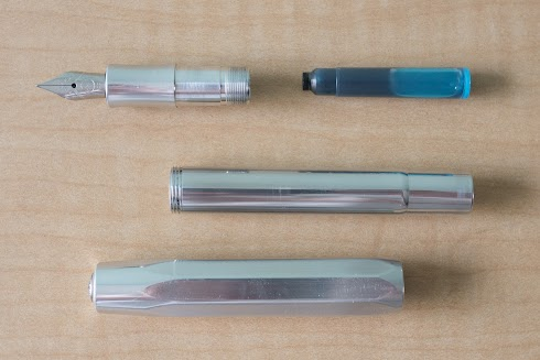 Kaweco Classic Sport and Al Raw fountain pens
