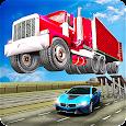 Ramp Truck Trailer Open Doors Car Racing Stunts