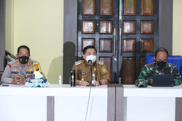 Rapat Evaluasi, Walikota Ibnu Sina: PPKM Level IV Banjarmasin Diperpanjang