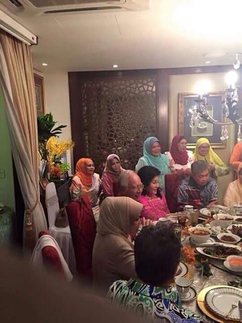 Najib makan malam dengan tpm baru