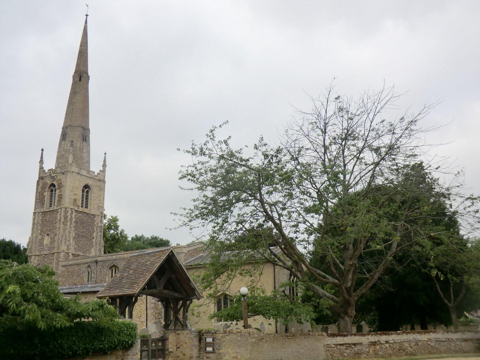 CIMG7786 St Margaret's church, Hemingford Abbots