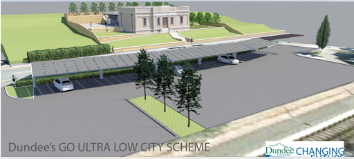 Proposed Recharging Hub for Broughty Ferry Autumn 2016