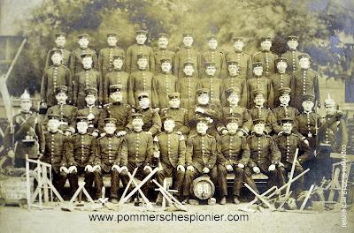 Minerzy  z Pom.Pionier. Bataillon Nr. 2
