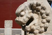 Temple Yaowangmiao : stèles