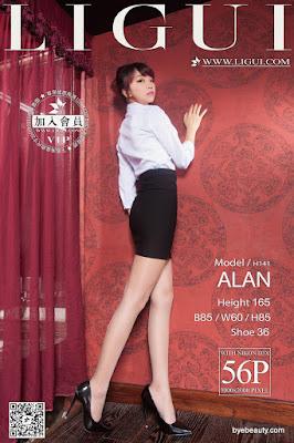 LiGui 2015.11.02 网络丽人 Model ALAN [56P]