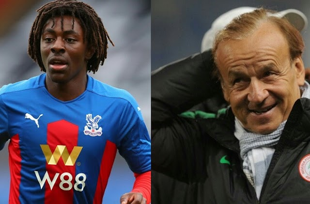 """""""I sent him a message and he replied he will think about it"""" - Super Eagles coach, Gernot Rohr gives update on Nigeria's pursuit of footballer, Eberechi Eze"""