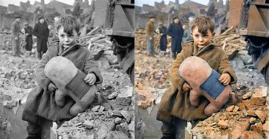 Най-известните исторически черно-бели фотографии в цвят