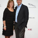 WWW.ENTSIMAGES.COM -   Ann Redgrave and Steve Redgrave  arriving     at       Jaguar XE - World premiere and  Global launch party at Earls Court Exhibition Centre, London September 8th 2014Jaguar premieres its new Jaguar XE car to press and VIPs                                               Photo Mobis Photos/OIC 0203 174 1069