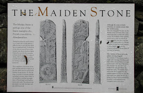 how many Pictish cross slabs do you think there are in Aberdeenshire? Aberdeenshire is only 6,000 km²