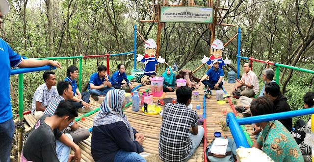 Destinasi Ekowisata Jembatan Asmara Wisata Alternatif di Bekasi