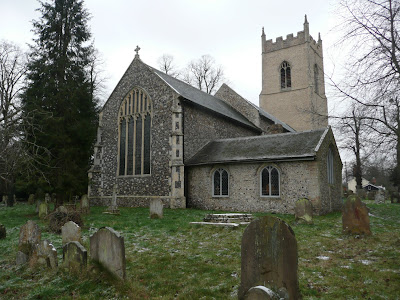 The church of St Mary of the Assumption, Ufford