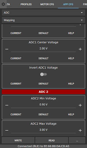 Screenshot for VESC Tool in United States Play Store