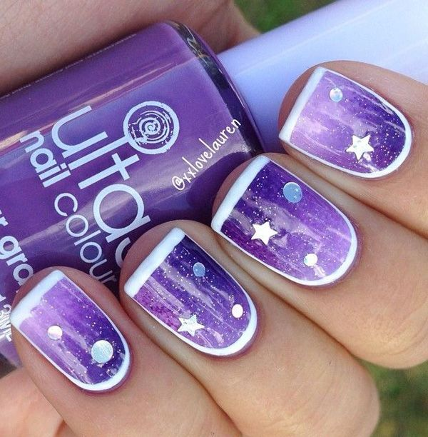 THE BEST COOL STAR NAIL ART STYLES WITH MORE IDEAS FOR LADIES IN 2019 4