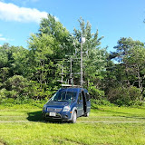 K8GP / Rover - FN00WA (looking SSE) - ARRL June VHF 2014