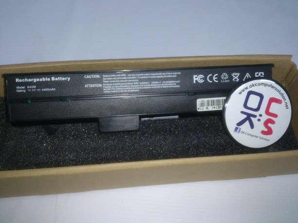 Battery bateri Dell Dell Inspiron 630m 640m XPS M140